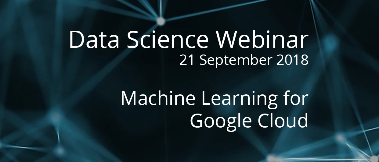 Webinar with Technical Curriculum Developers on Machine Learning for