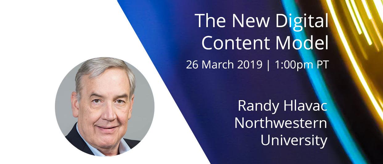 Webinar: The New Digital Content Model