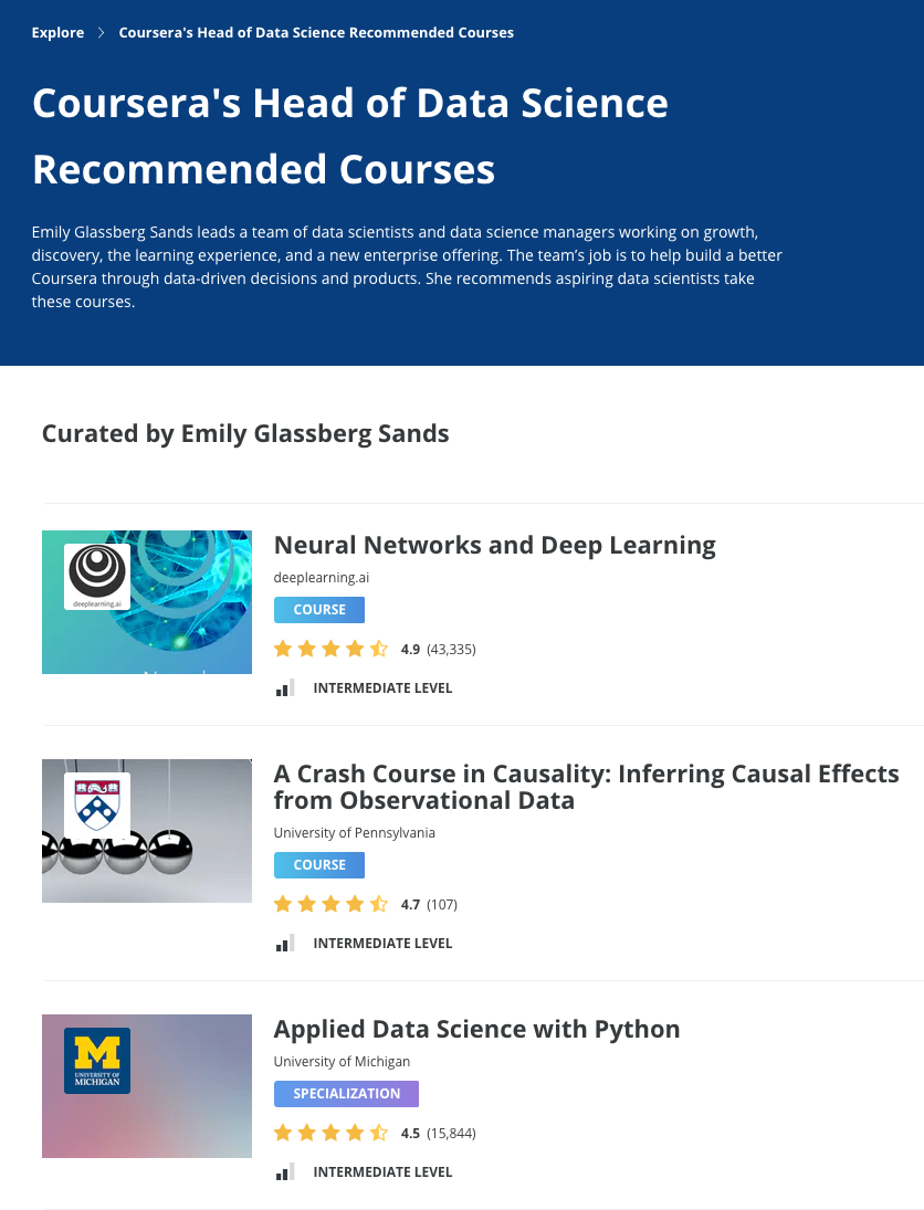 Announcing the launch of the Coursera Data Science Academy