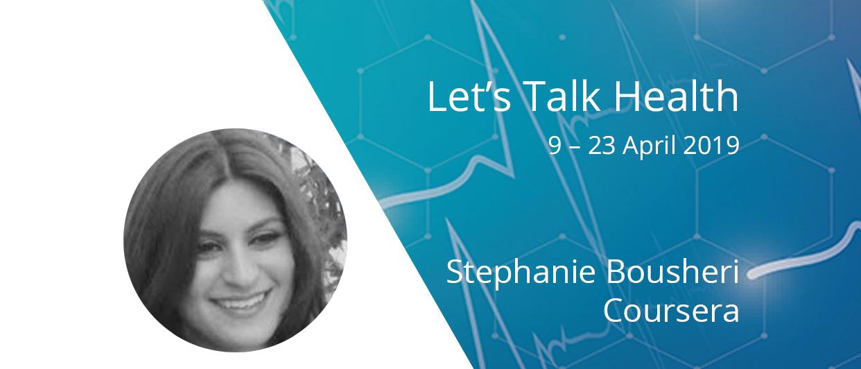 Let's Talk Health: Q&A with Stephanie Bousheri