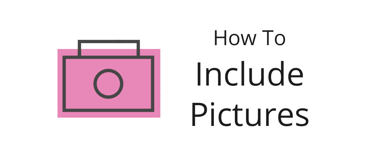 How to include pictures, videos and more in your posts