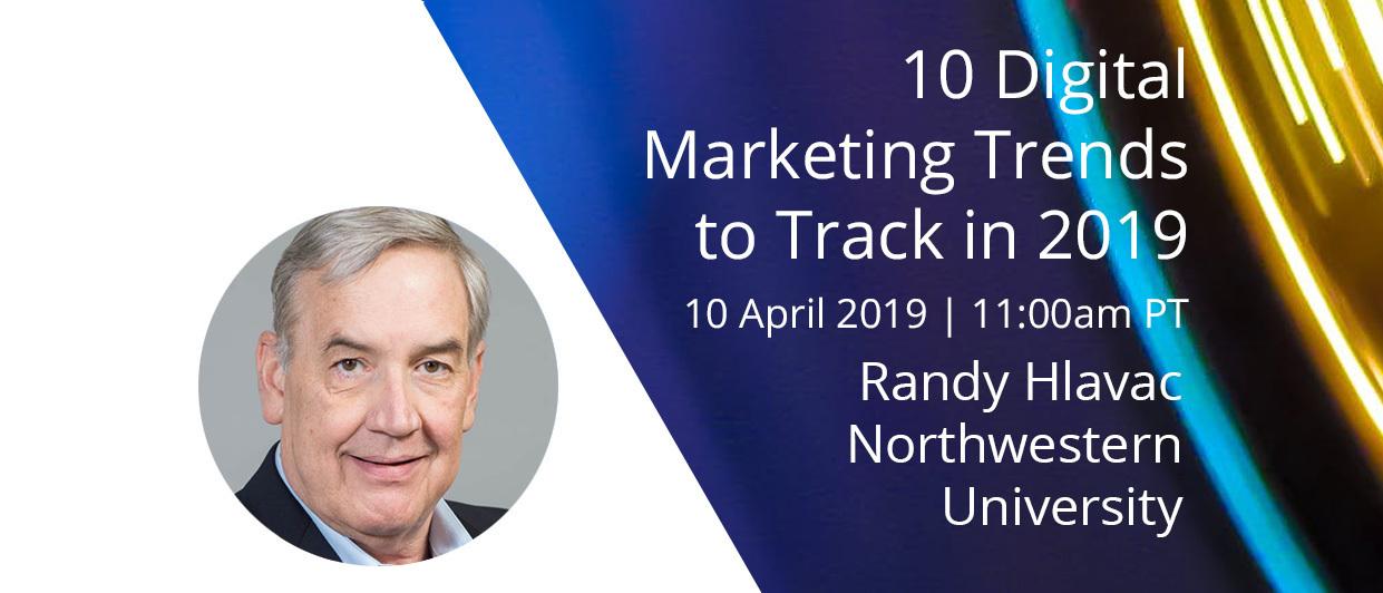 Webinar: 10 Digital Marketing Trends to Track in 2019