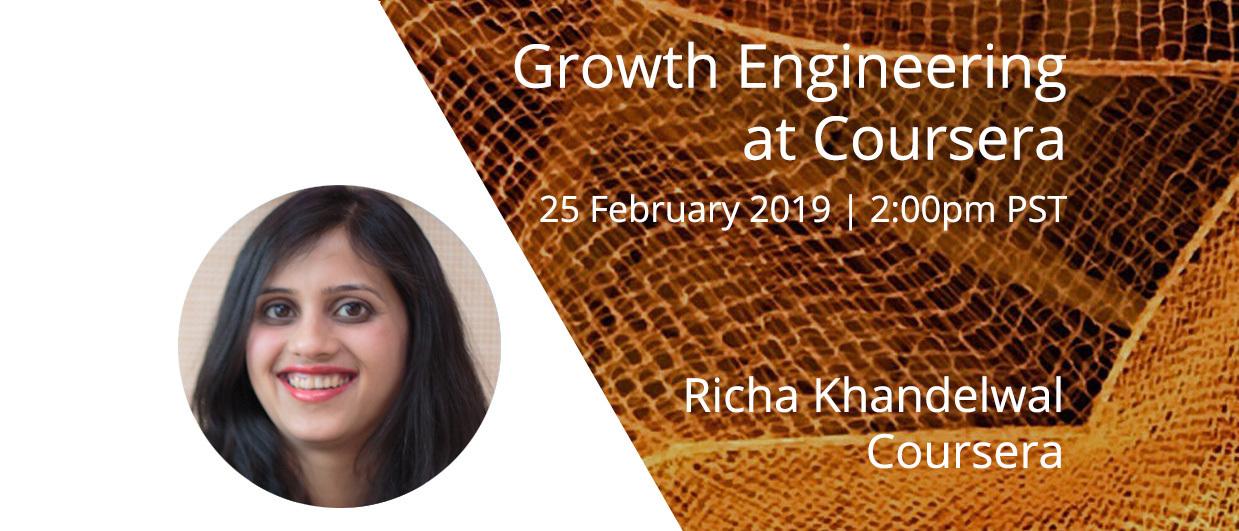 Webinar: Growth Engineering at Coursera