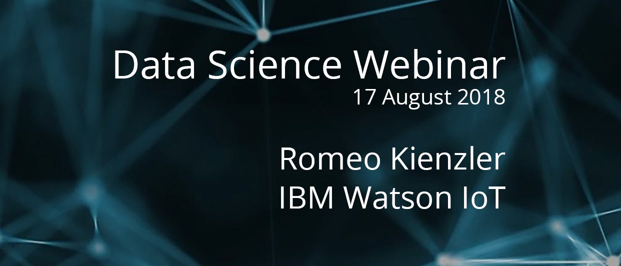 Webinar with Chief Data Scientist at IBM Watson IoT