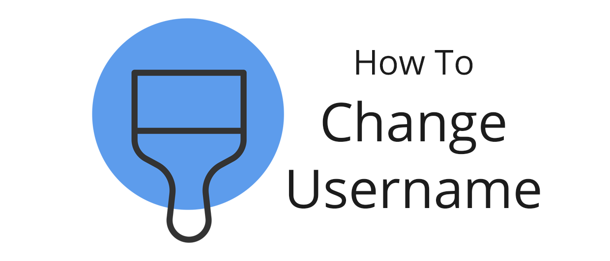 How to change your username