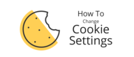 How to change your cookie settings
