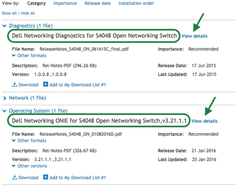 Dell diagnostics for S4048-ON | Cumulus Networks community