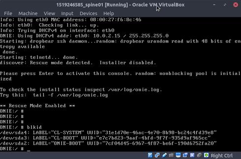 ONIE-BOOT not found in CumulusVX3 5 | Cumulus Networks community