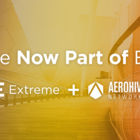 Extreme Networks Completes Acquisition of Aerohive Networks