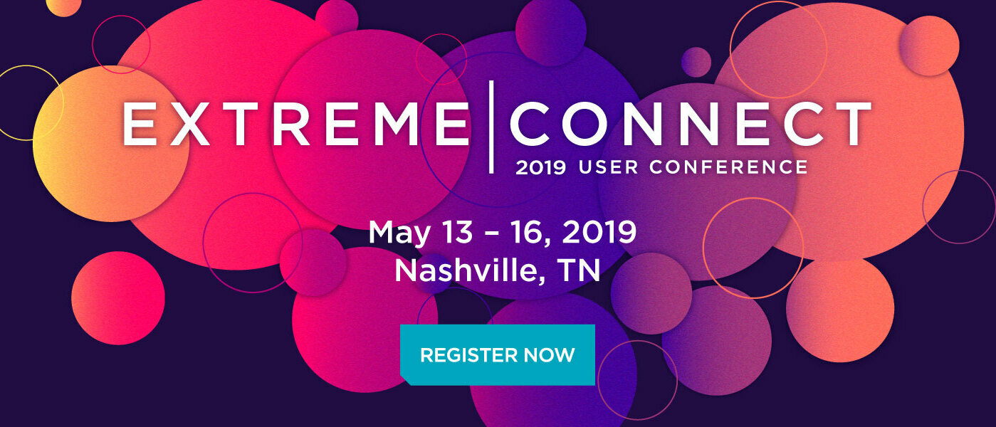 Register Now for Extreme Connect 2019 Nashville