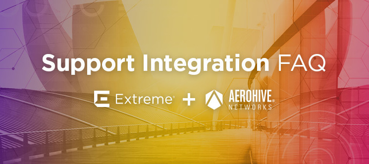 Aerohive Support Integration Information