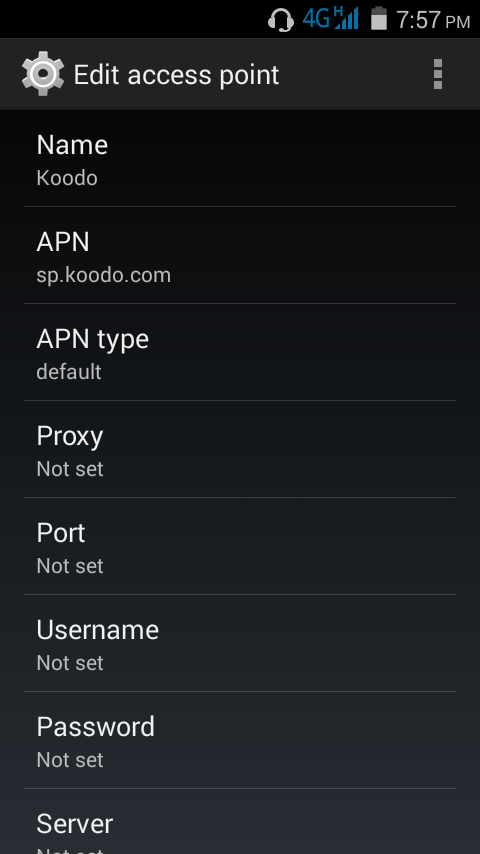 Android Maxwest Astro 4 5 - Can't send MMS   Koodo Community