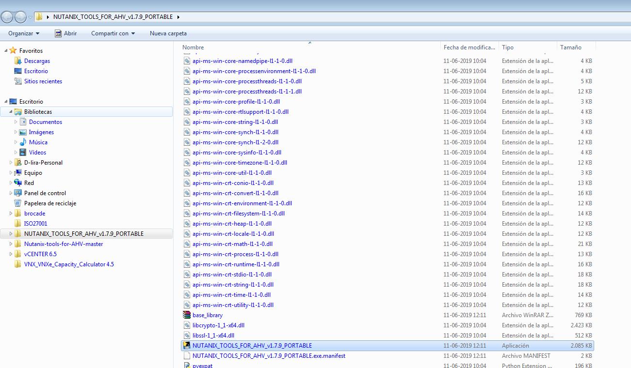 AHV] Nutanix cluster inventory and vm's , like RVtools