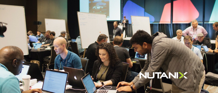 We Did It All For the Cookies - Our first Nutanix Customer Hackathon