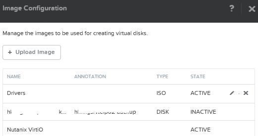 Image configuration, image remain INACTIVE | Nutanix Community