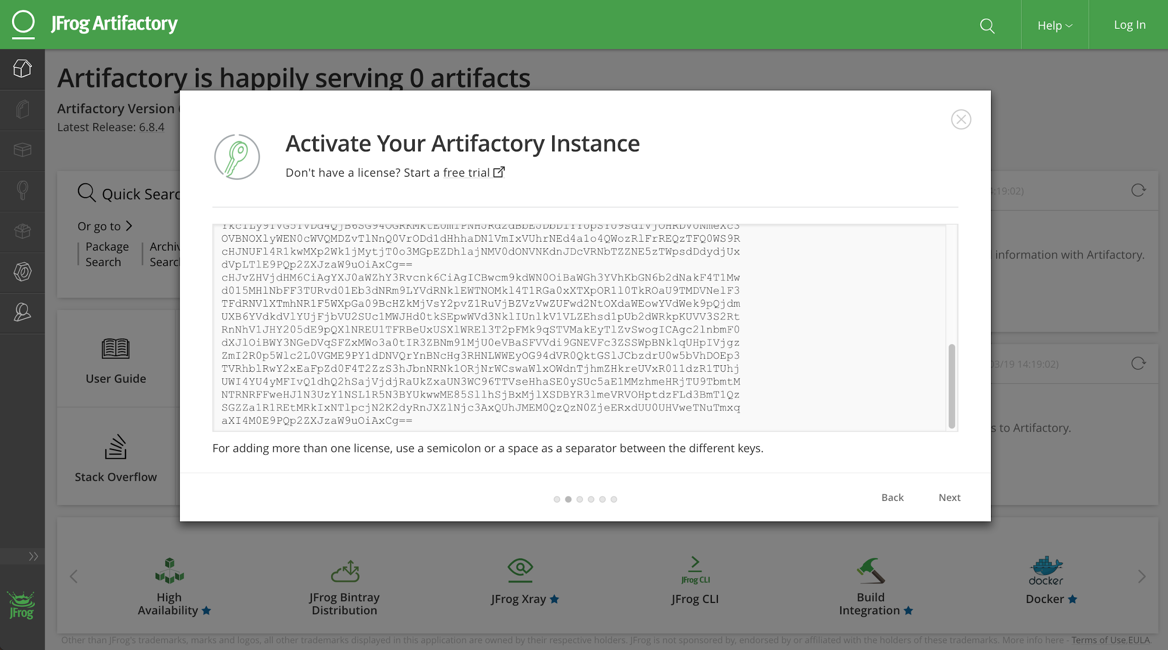 Deploying and Using JFrog Artifactory with Nutanix Karbon | Nutanix