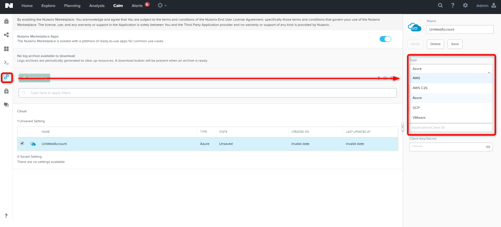 How can the Nutanix automation integrate with the Azure