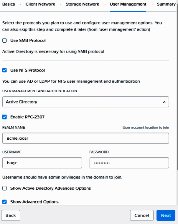 NFS v4 to Enable Acropolis File Services | Nutanix Community