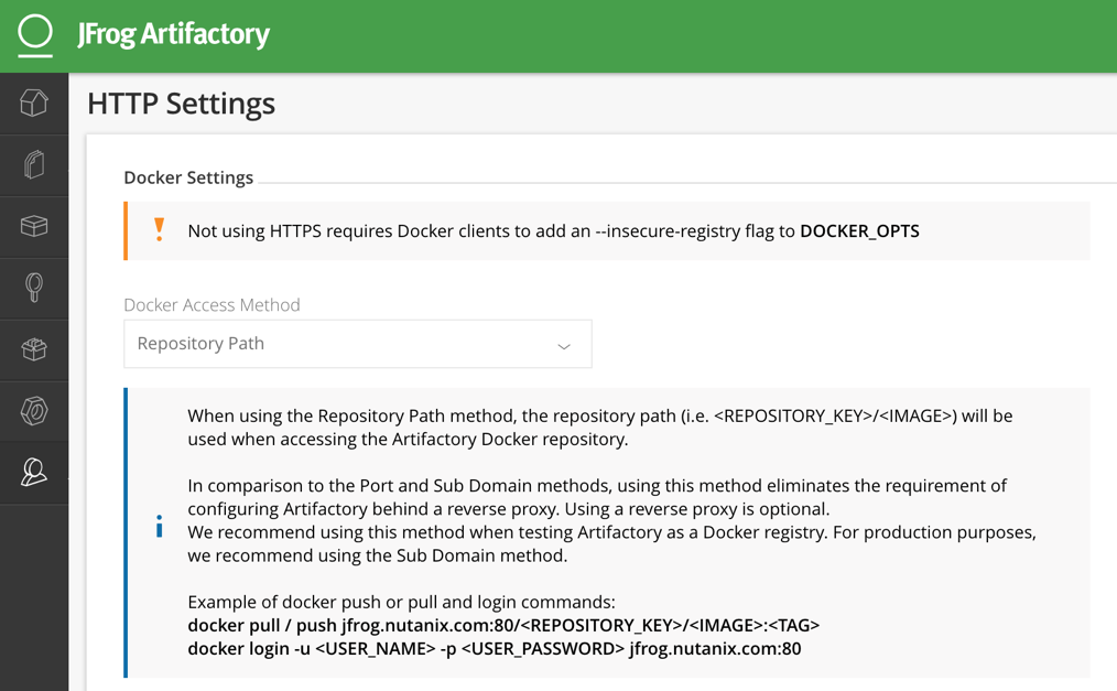 Deploying and Using JFrog Artifactory with Nutanix Karbon