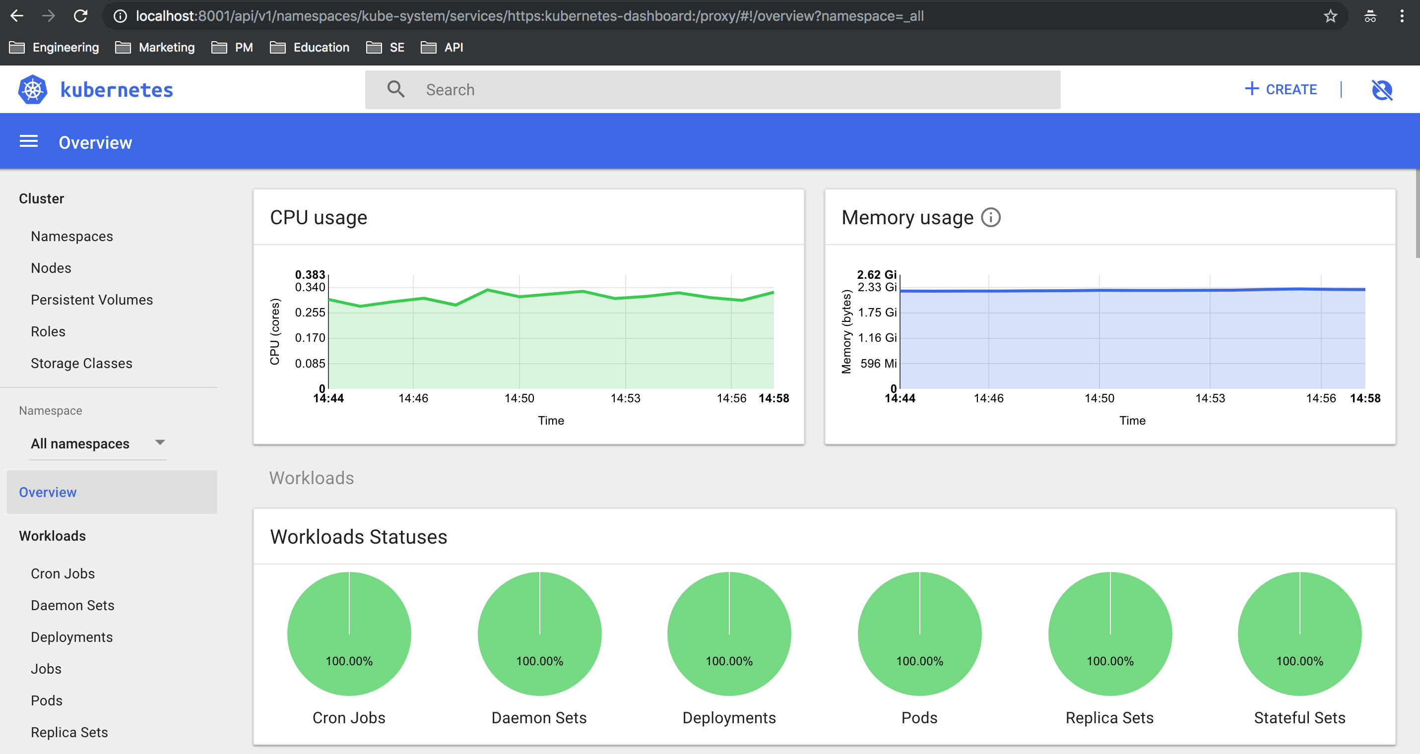 Kubernetes Dashboard on Nutanix Karbon | Nutanix Community
