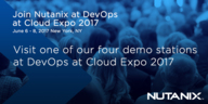 Nutanix in the World of Cloud Computing at Cloud Expo 2017