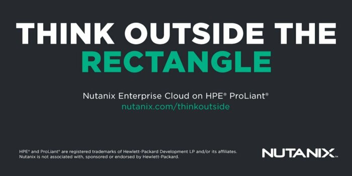 Nutanix on HPE® ProLiant® is NOW AVAILABLE