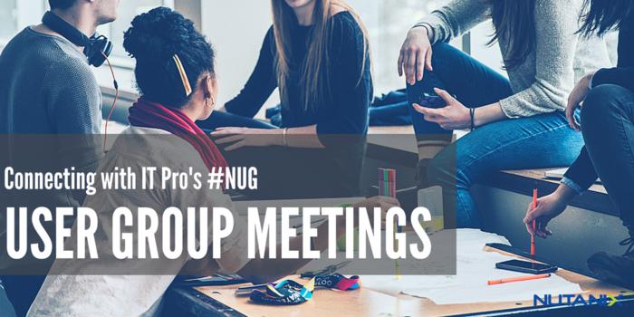 Upcoming NUG Meetings
