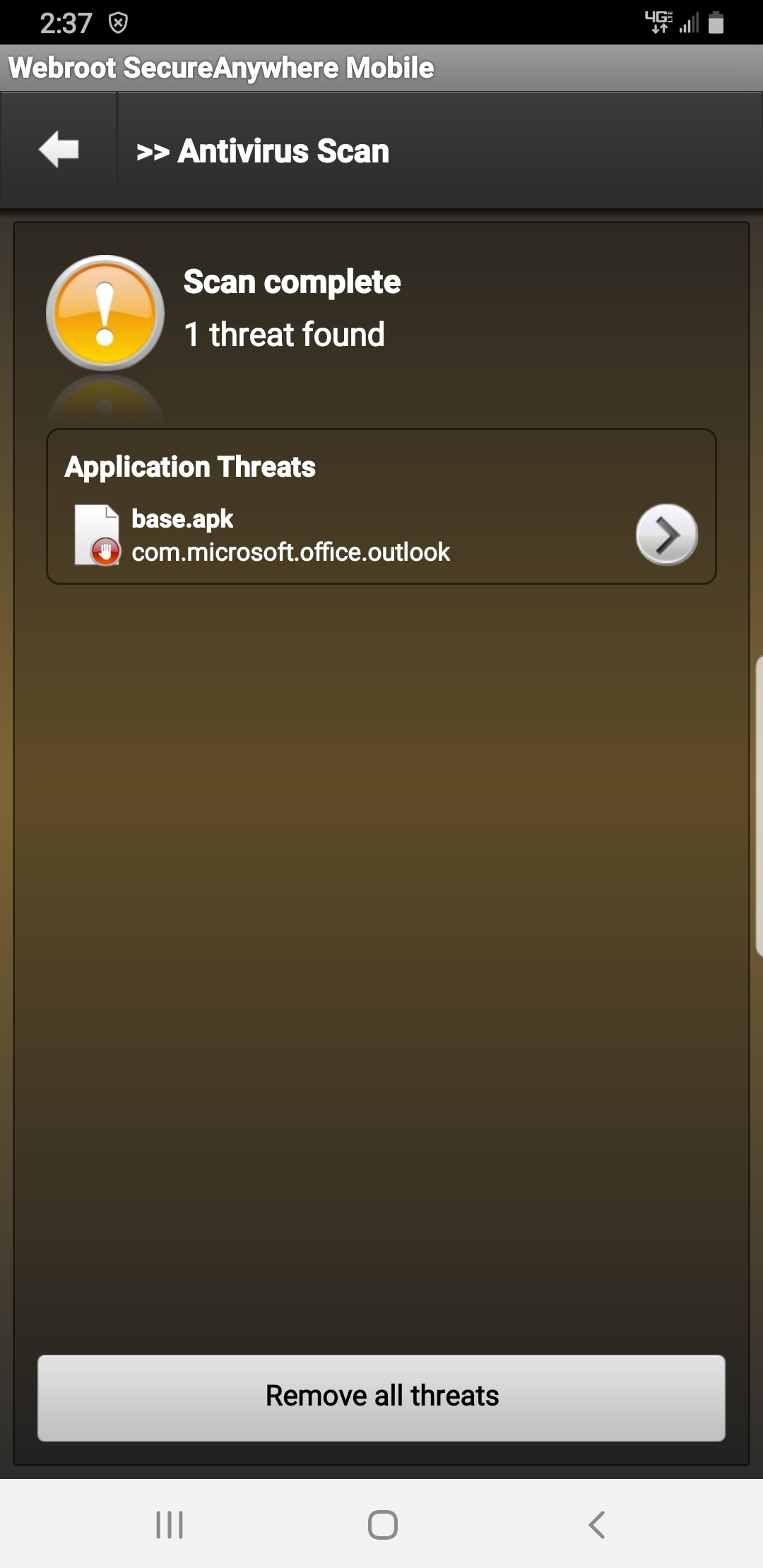 how to uninstall antivirus on android