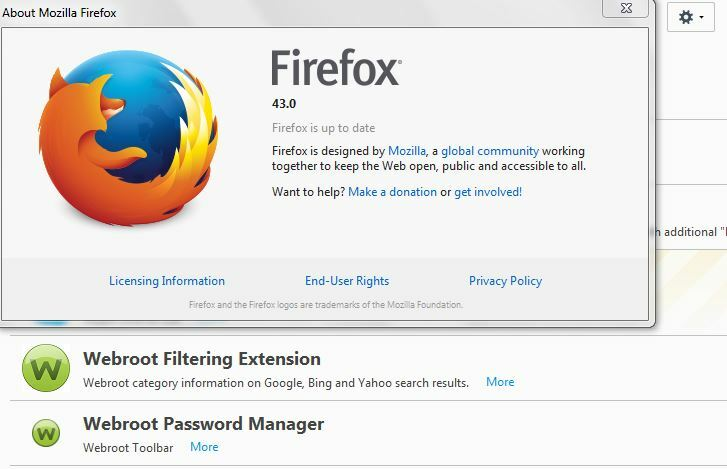 is there a Password Manager add-on for FireFox Version 35 I