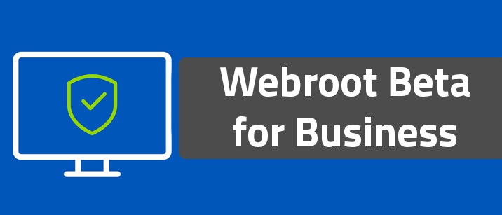 Webroot Beta for Business - Registration