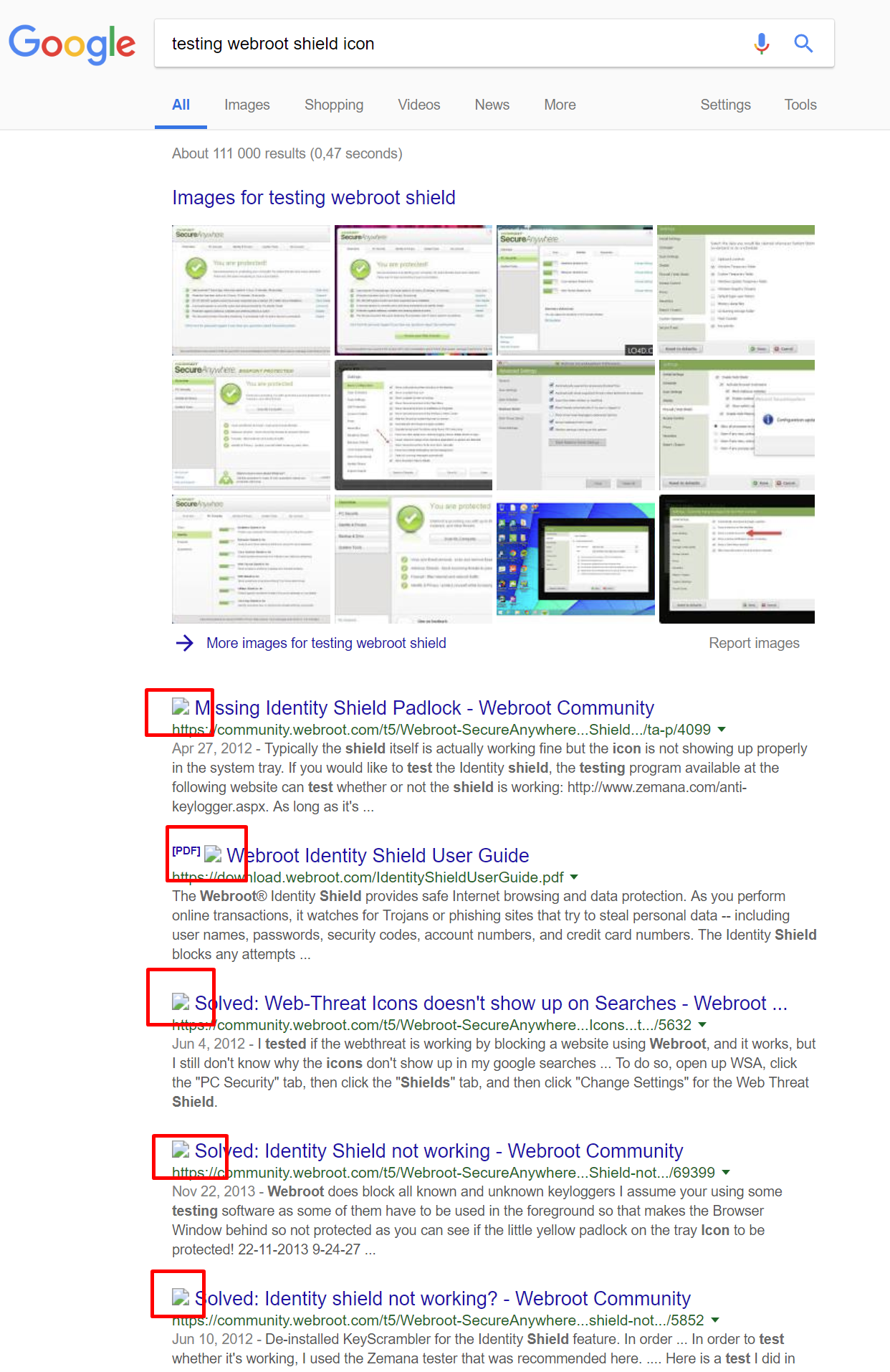 Chrome Extension icon on links is missing | Webroot Community