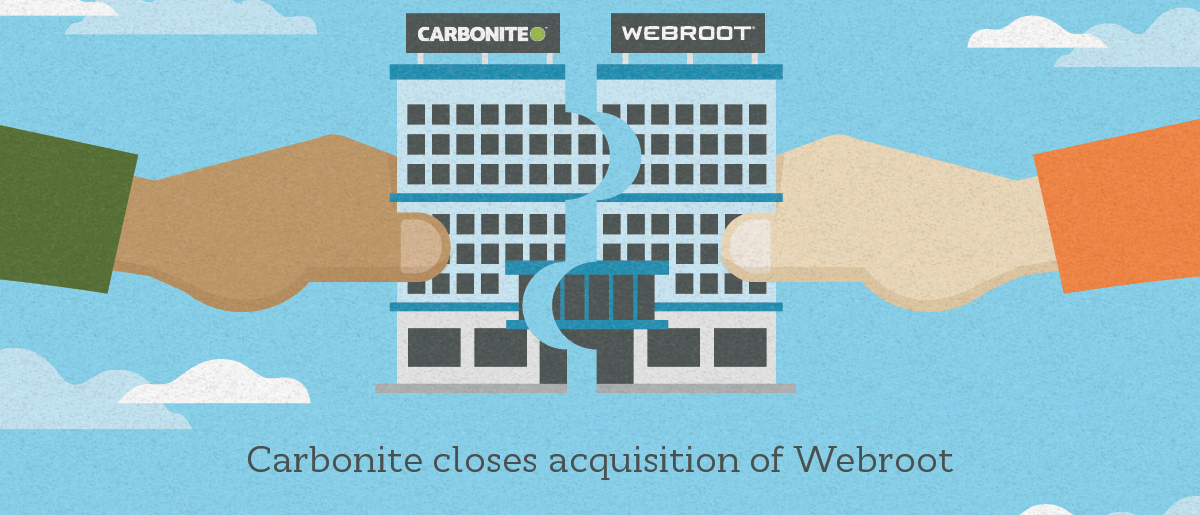 Done Deal: Webroot acquisition closed