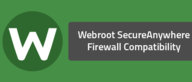 Webroot SecureAnywhere Firewall Compatibility