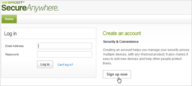 How to Create an Online Webroot Account