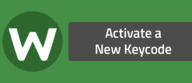 Activate a New Keycode