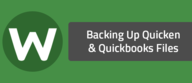 Backing Up Quicken & Quickbooks Files