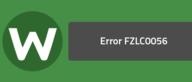 Error FZLC0056