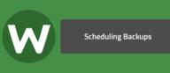 Scheduling Backups