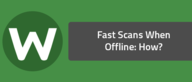 Fast Scans When Offline: How?