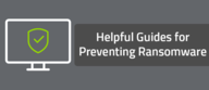 Helpful Guides for Preventing Ransomware