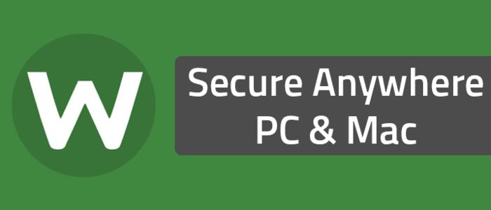 Secure Anywhere PC & Mac
